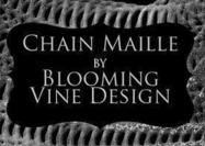 Bloeiende Vine's Chain Maille Brush en Layer Style