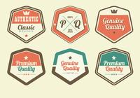 Paquet Retro Premium Label PSD