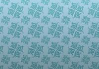 Azul Ornamentado Patterned Background PSD