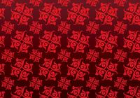 Red Ornamental Patterned Hintergrund PSD