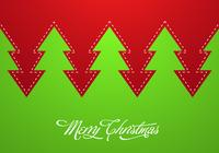 Abstract Christmas Tree PSD Background