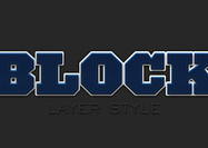 Blocklagstil