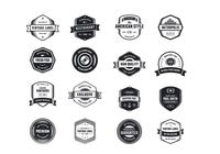 Vintage Logo PSD Pack Two