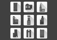 Office Building Ikoner PSD Pack