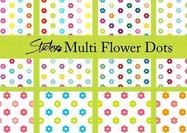 Multicolor-flower-dot-patterns