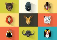 Animal Portraits PSD Pack