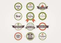 Badges psd set