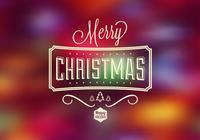 Bright Bokeh Christmas Psd