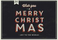 Dark Christmas PSD Background