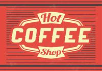 Hot Coffee PSD Background