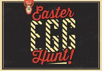 Easter Egg Hunt PSD Background