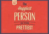 The Happiest Person PSD Background