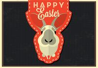 Happy Easter Bunny PSD Background