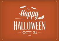 Happy Halloween PSD Background