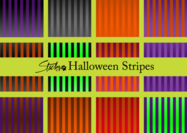 Halloween Stripes Muster