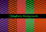 Batty Bat Pattern & Bat Backgrounds