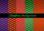 Batty Bat Pattern & Bat Achtergronden