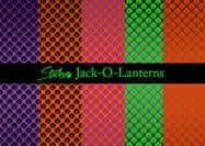 Jack-O-Lantern Pattern Backgrounds