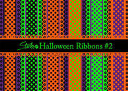 Halloween Ribbons Patterns # 2