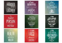 Motivational Quote PSD Background Pack