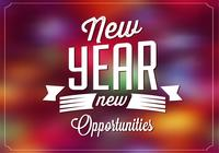 Bright New Year PSD Background