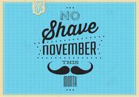 Vintage No Shave November Contexte du PSD