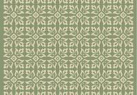 Groen Ornament Photoshop Patroon