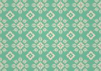 Groen Floral Photoshop Patroon