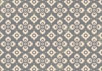 Gray Floral Ornament Photoshop Pattern