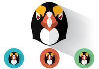 Pinguin Portraits PSD Set