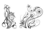 Free Ornamental Swirl Brushes