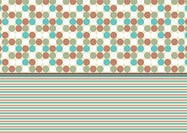 Free Patterns Photoshop Turquoise and Rust