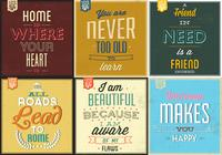 Retro Typographic Poster PSD Pack
