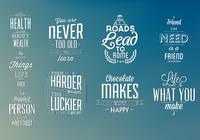 Typographic Elements PSD Pack