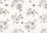 Hand-drawn-black-and-white-floral-wallpaper-photoshop-backgrounds