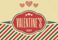 Vintage Valentine's Day PSD Background
