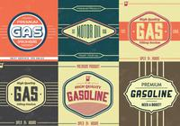 Vintage Gasoline Sign PDS Pack