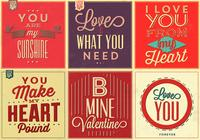 Love Quote PSD Background Pack