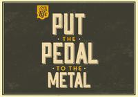 Pedal till Metal PSD Background
