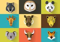 Wild Animal PSD Portraits