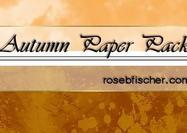 Herbst Textured Paper-Pack