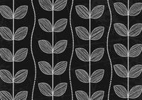 Chalk Drawn Leaf Wallpaper PSD