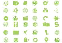 Eco Green Icon PSD Pack
