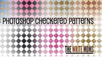 Sparkly Checkered Patterns