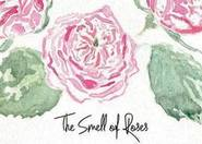 Watercolour flowers, fall - The smell of roses