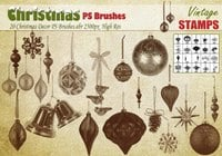 Christmas Decor PS Brushes