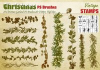 Christmas Garland PS Brushes