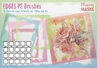 Brosses à épices d'aquarelle