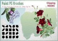 Stroke Brush Mask PS Borstels