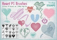 Heart PS Brushes